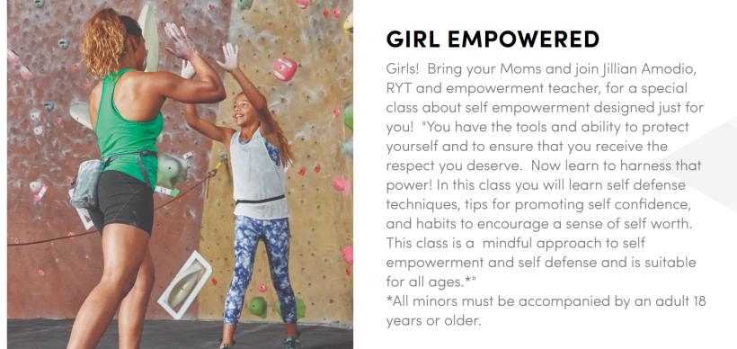 girl empowered athketa